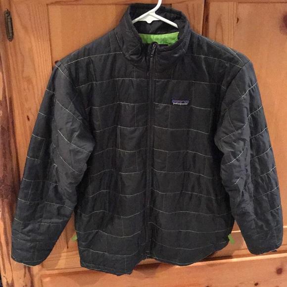 077985cc4 Patagonia boys full zip nano puff jacket